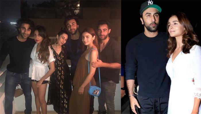 Alia Bhatt Bonds With BF Ranbir Kapoor's Cousins, Karisma Kapoor, Armaan Jain And Aadar Jain