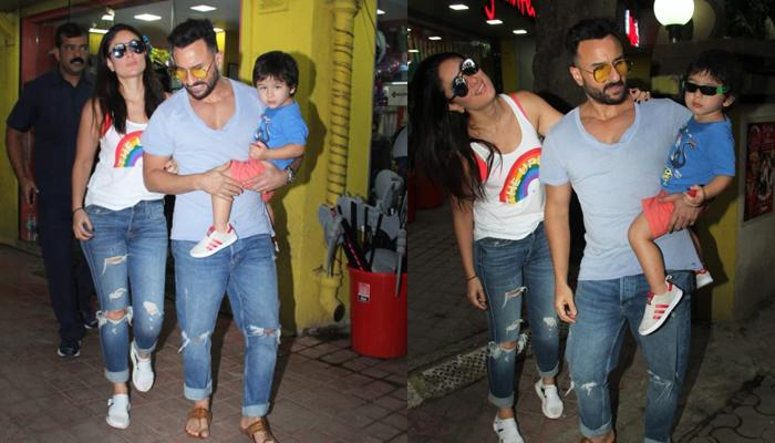 Taimur Ali Khan Persuaded Kareena Kapoor Khan And Saif Ali Khan To Buy Him A Toy, Pics Inside
