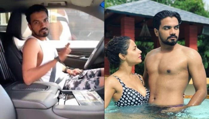 Rocky Jaiswal Takes Hina Khan On A Romantic Drive In Switzerland, She Can't Stop Gushing [VIDEO]