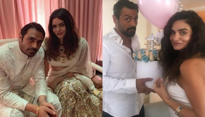 Arjun Rampal Twinned With GF Gabriella Demetriades On Her Baby Shower (Pictures Inside)