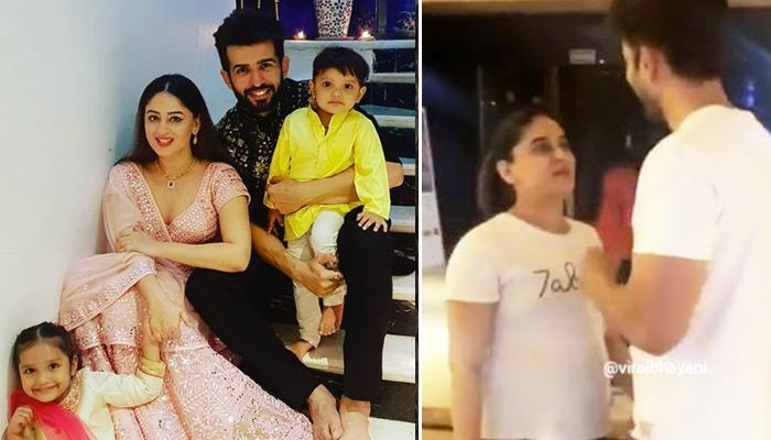 Jay Bhanushali Pampers Pregnant Wifey, Mahhi Vij As He Takes Her For A Movie Date, Video Inside