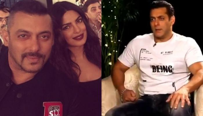 Salman Khan Makes Fun Of Priyanka Chopra For Choosing Marriage Over His Film 'Bharat', Video Inside
