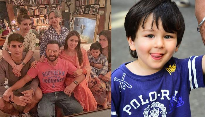 Taimur Ali Khan's Sleep Time Made The Pataudis Wrap Up Their Family Dinner Get Together Early