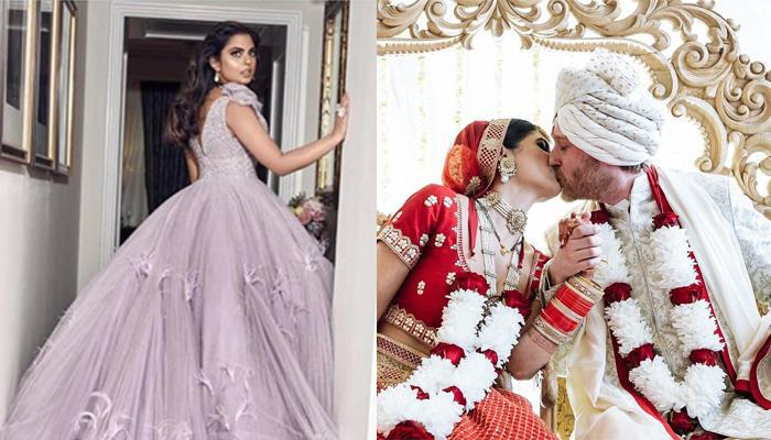 This Bride Wore A Stunning Lehenga Designed By Prabal Gurung, The Man Who Designed For Isha Ambani