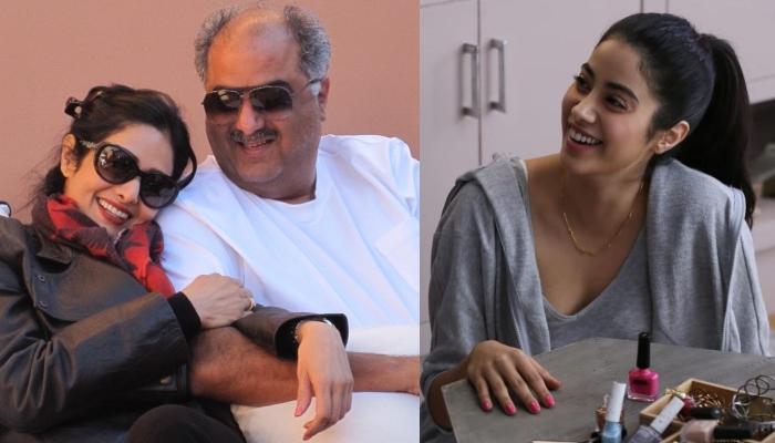 Janhvi Kapoor Reminisces Her Parents, Sridevi And Boney Kapoor's Lovestory, Shares A Throwback Pic