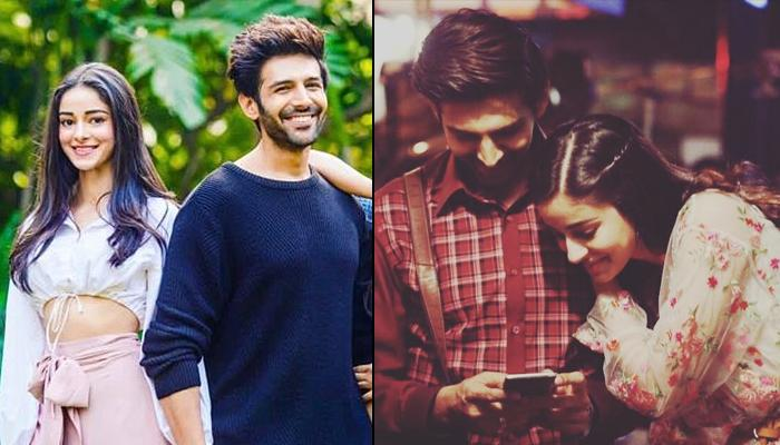 Ananya Panday Reacts To Link-Up Rumours With Crush-Turned-Co-Star Kartik Aaryan, Says 'I Am Happy'