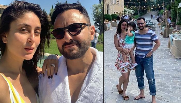 Saif Ali Khan, Kareena Kapoor Khan And Taimur Ali Khan Say 'Hi' From Tuscany, Give Major Vacay Goals
