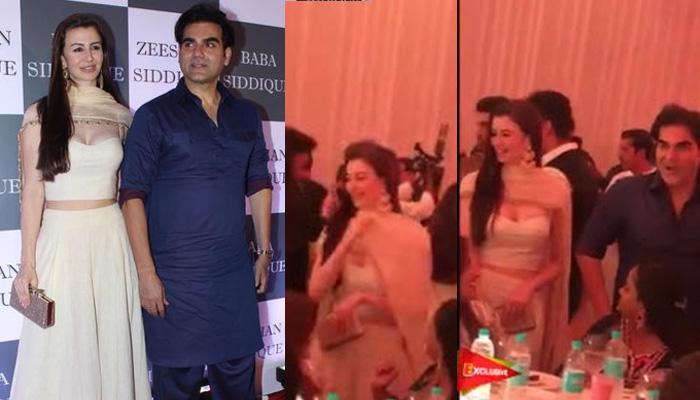 Arpita Khan Asks Arbaaz Khan's GF Giorgia Andriani To Pull Down Her Dupatta, Video Inside