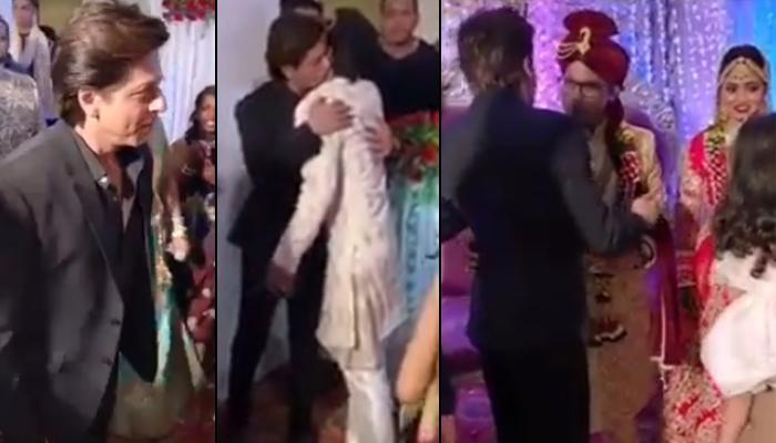 Shah Rukh Khan Attending His Hairstylist's Sister's Wedding Impresses The Netizens, Video Inside