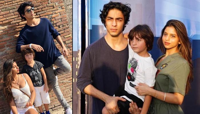 Shah Rukh Khan's Trio, Aryan Khan, Suhana Khan And AbRam Khan Are 'Sugar, Spice And Everything Nice'