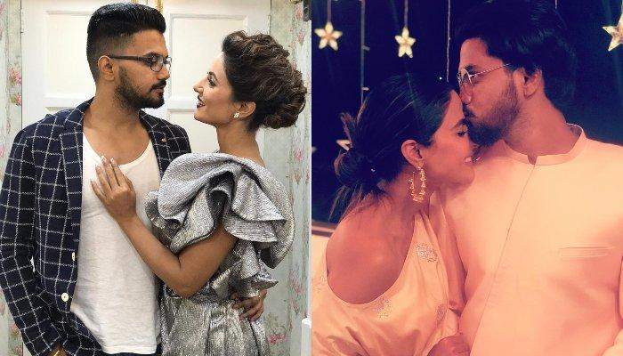 Hina Khan And Rocky Jaiswal Once Again Indulge In Adorable PDA Sessions, The End Result Is Hilarious