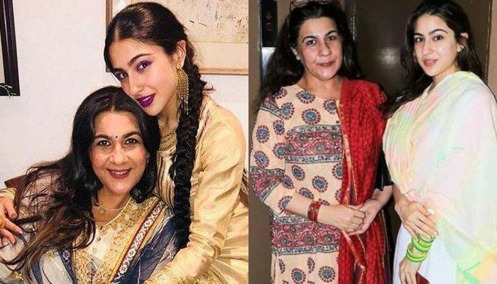 Sara Ali Khan Posts A Heart-Melting 'Eid Mubarak' Wish With Mommy, Amrita Singh, Look Mesmerising