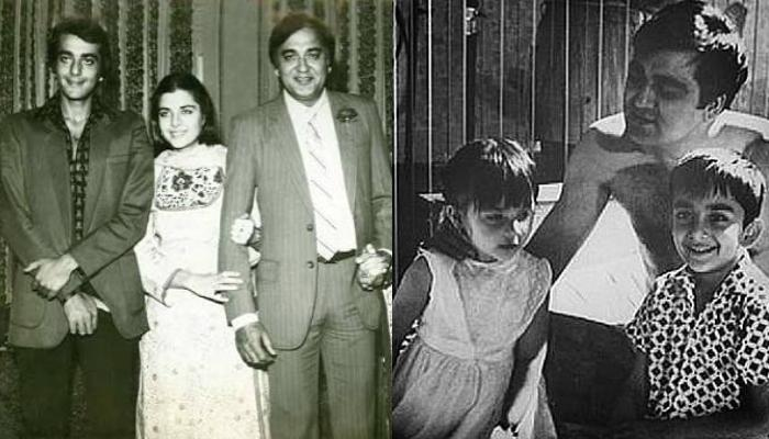Sanjay Dutt Takes A Journey Down The Memory Lane On Father ...