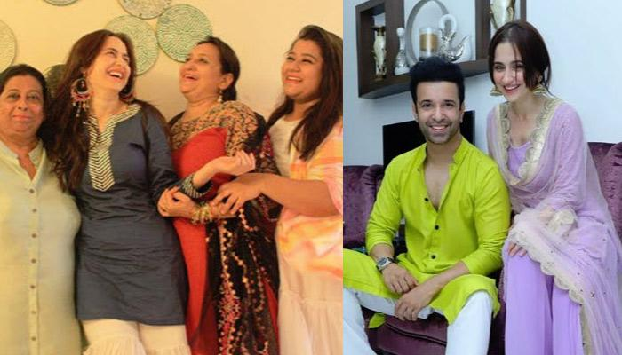 Sanjeeda Shaikh And Aamir Ali Celebrated Eid With Family, Pose Happily With Each Other (Pics Inside)