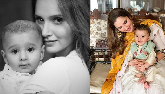 Sania Mirza's Baby Boy, Izhaan Mirza Malik Is All Smiles As He Celebrates His First Eid