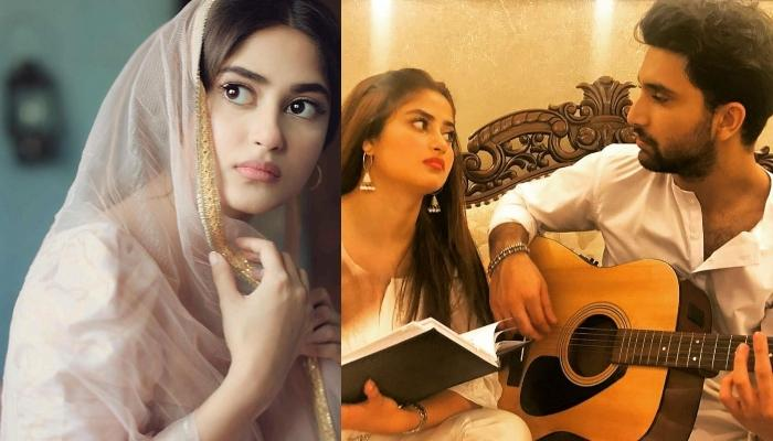 Sajal Aly Gets Engaged To Boyfriend, Ahad Raza Mir, Shares A Beautiful Picture Of Her New Beginnings