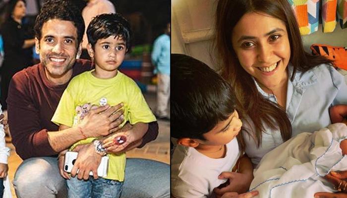 Tusshar Kapoor Reveals How His Son, Laksshya Kapoor Gets Jealous When He Holds Nephew, Ravie Kapoor