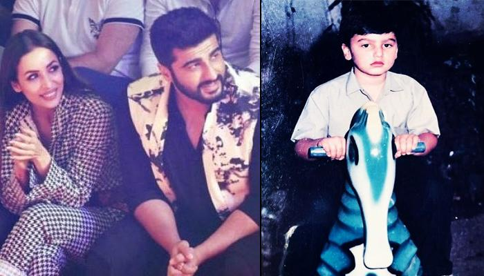Arjun Kapoor Posts Childhood Picture On Instagram, Malaika Arora Has An Interesting Question For Him
