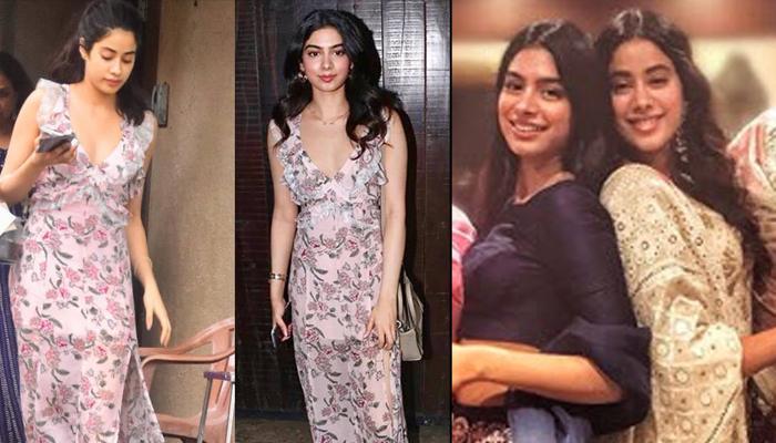 Khushi Kapoor Borrows Janhvi Kapoor's Dress For Sonam's