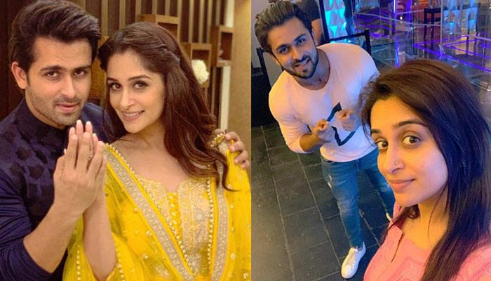Dipika Kakar Can't Stop Gushing As Shoaib Ibrahim Pays A Surprise Visit On Set, Pictures Inside