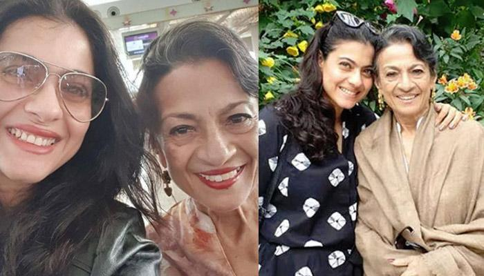 Kajol Shares A Heartwarming Picture With Ailing Mom, Tanuja, Thanks All Well-Wishers For Prayers