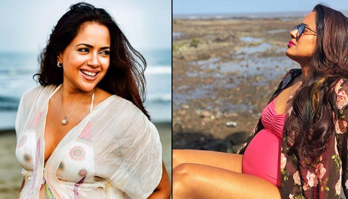 Sameera Reddy Shuns Trolls In An Epic Way Who Fat-Shamed Her For Flaunting Baby Bump On Her Babymoon