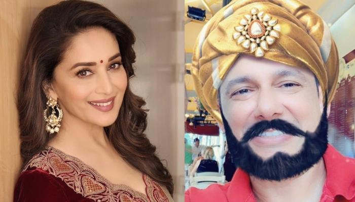 Madhuri Dixit Shares A Perfect Selfie With Her 'Maharaja' From Her Italy Vacations