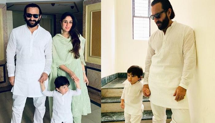 Saif Ali Khan Reveals How He Feels When Taimur Ali Khan Is Sleeping Once He Is Back From Work