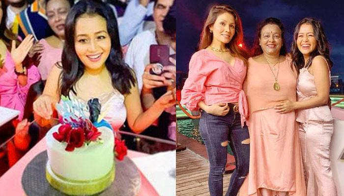 Neha Kakkar Celebrated Her Birthday With Family And Friends, Checkout Inside Pics From The Bash