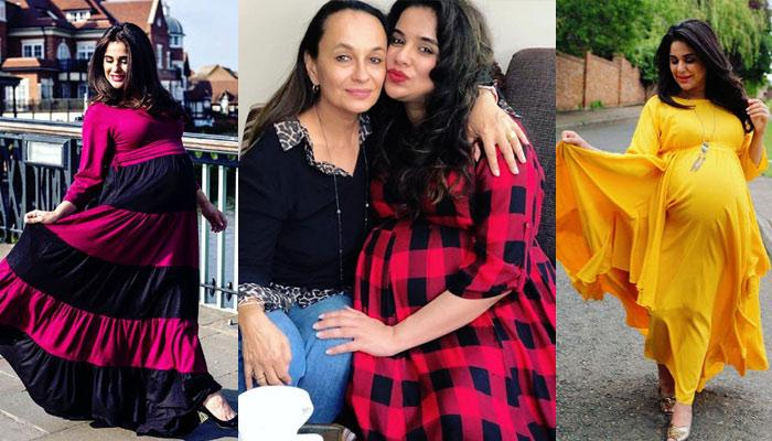 Mom-To-Be Sara Arfeen Khan Makes Fashionable Statements With Her Maternity Wear, Pictures Inside