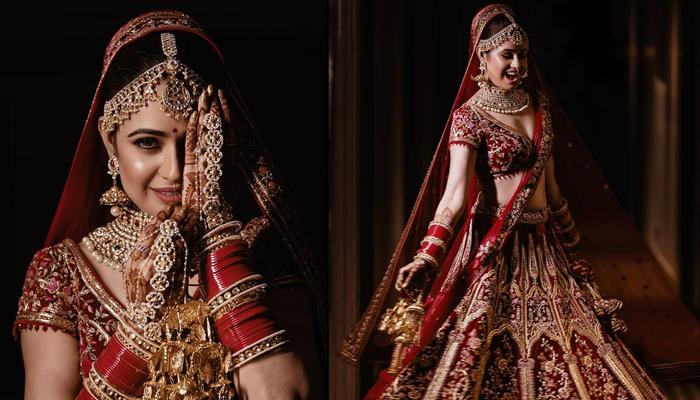 Yuvika Chaudhary's Unseen Bridal Pictures From Her Wedding Sparkle The Aura Of Perfect Indian Bride