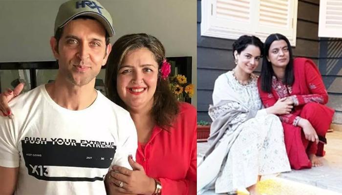 Kangana Ranaut's Sister, Rangoli Shares Hrithik Roshan's Sister, Sunaina Has Been Calling Them