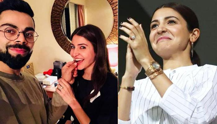 Anushka Sharma Cheers For Hubby Virat Kohli By Juggling Between Work And World Cup, Details Inside