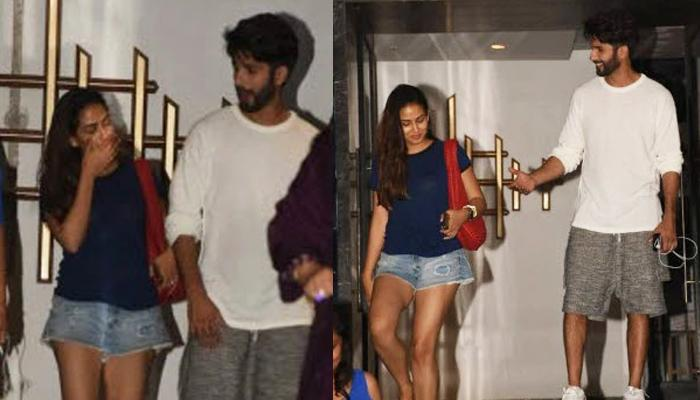 Shahid Kapoor And Mira Rajput Kapoor Went On A Dinner Date Donning Perfect Summer Couture