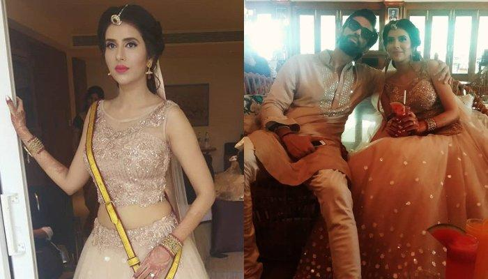 Rajeev Sen And Charu Asopa's First Picture Together From Their Mehendi Ceremony, Look Stunning