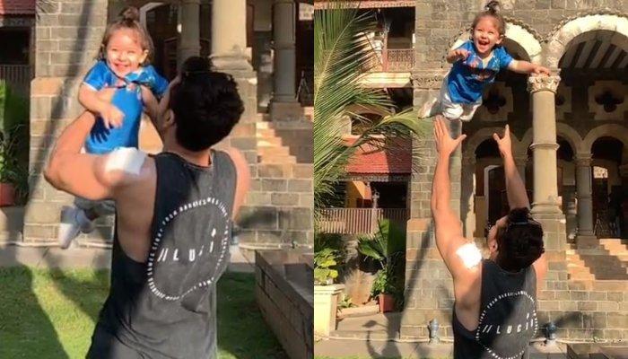 Kunal Kemmu Sprungs Inaaya Naumi Kemmu  In The Air And She Can't Stop Laughing, Soha Shares Video