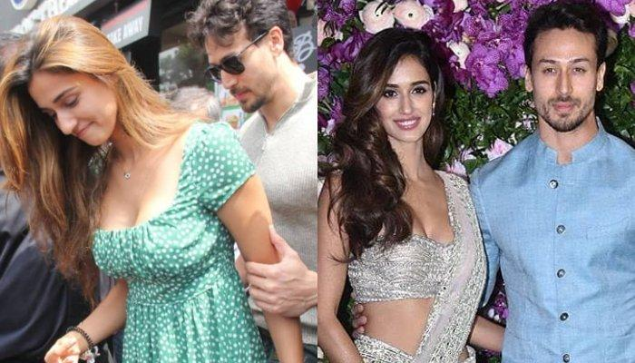 Tiger Shroff Protects Disha Patani From Crowd As They Step Out From Their Usual Sunday Lunch Date