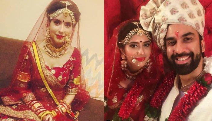 Charu Asopa's Traditional Rajasthani Chooda Is Too Unique To Miss, Complements Her Wedding Lehenga