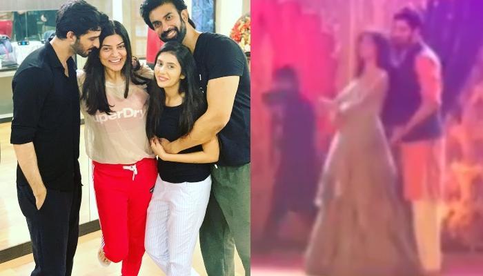 Sushmita Sen Dances With Boyfriend, Rohman Shawl On Rajeev-Charu's Sangeet Ceremony [Video Inside]