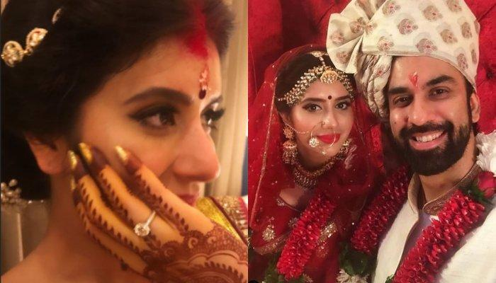 First Post-Wedding Look Of Charu Asopa And Rajeev Sen, Looks Beautiful As A Newbie Bride In Sindoor