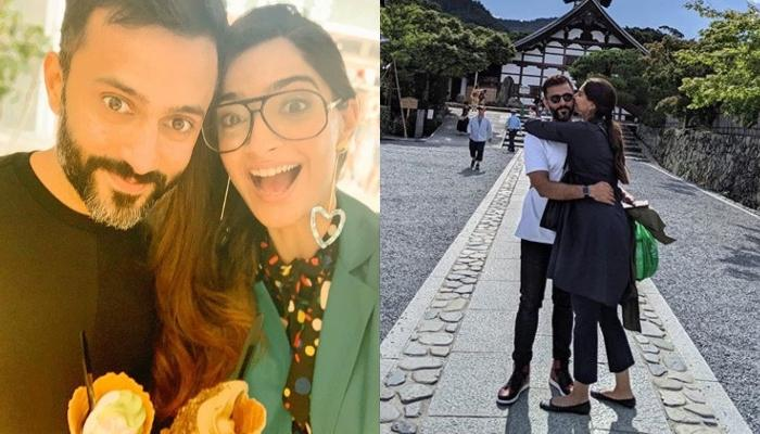 Sonam Kapoor And Anand Ahuja's Romance In Japan Is Winning Hearts, Pose Like Happy Couple (Pictures)