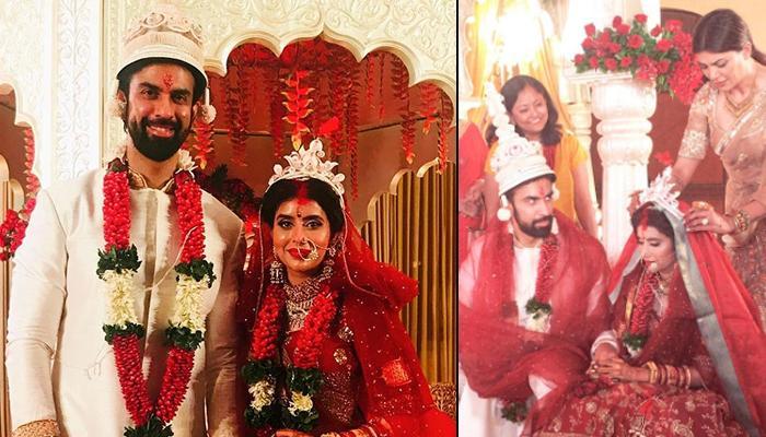 Sushmita Sen Performs Rituals At Brother Rajeev Sen And Charu Asopa's Bengali Wedding, Video Inside