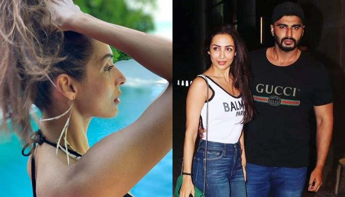 Malaika Arora Shows Us 5 Steps To Tie A Ponytail, Arjun Kapoor Steals The Show With His Comment