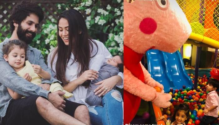 Misha Kapoor Gives A High Five To Peppa Pig, Mommy, Mira Rajput Kapoor Captures The Moment
