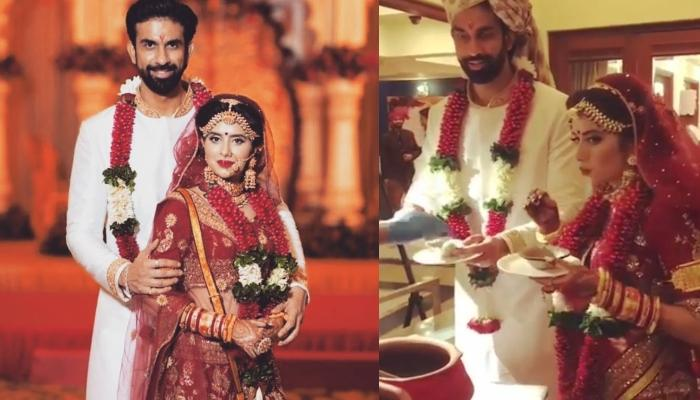Rajeev Sen And Charu Asopa Show Us That No Shaadi Is Ever Complete Without Pani Puri, Even Your Own
