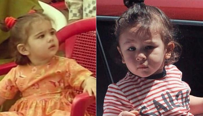 Unseen Video Of Baby Sara Ali Khan Playing With Abba Saif Ali Khan Reminds Us Of Taimur Ali Khan