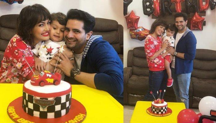 Karan Mehra And Wife, Nisha Rawal Had Gifted Son, Kavish Mehra A Beautiful Car On His 2nd Birthday