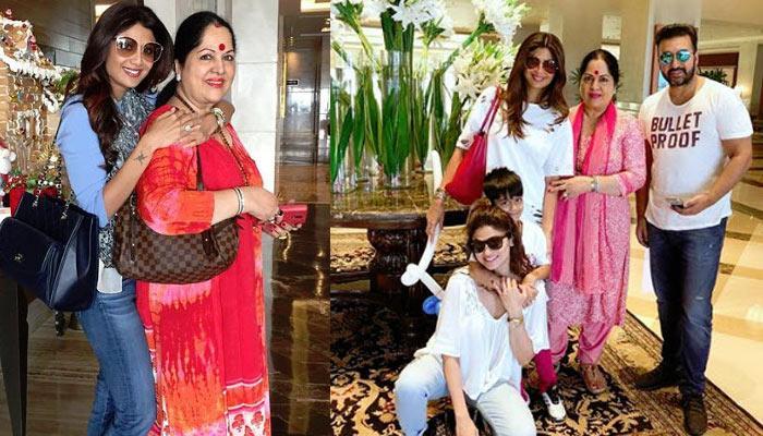Shilpa Shetty, Raj Kundra And Shamita Shetty's Heartfelt 70th B'Day Wishes For Mom Sunanda Shetty