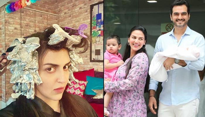 Esha Deol Gets Her Hair Coloured Soon After Delivering Miraya Takhtani, Fans Express Concern Over It