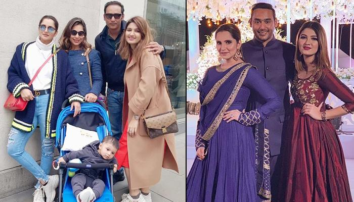 Sania Mirza And Izhaan Take A Stroll In London With Sister Anam Mirza And Her Alleged Boyfriend Asad